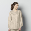 WonderWink Unisex Snap Jacket CID 800A-KHAK-XL