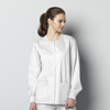WonderWink Unisex Snap Jacket CID 800A-WHIT-XL
