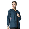 workwear jackets: WonderWink - Constance Snap Jacket