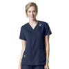 scrub tops: Carhartt - Women's Rugged Flex® V-Neck Media Scrub Top