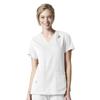 scrubs: Carhartt - Women's Rugged Flex® V-Neck Media Scrub Top