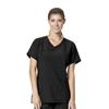 scrubs: Carhartt - Women's Rugged Flex® Y-Neck Fashion Scrub Top