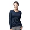 Carhartt Long Sleeve Burnout Jersey Tee CID C30109A-NVY-MD