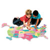Chenille Kraft Creativity Street® WonderFoam® Giant U.S.A. Puzzle Map CKC 4377