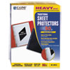 Binder Accessories Sheet Hole Reinforcements: C-Line® Traditional Sheet Protector