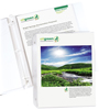C-Line Products Standard Weight Poly Top Loading Biodegradable Sheet Protectors, 11 x 8 1/2 CLI 04947BNDL6PK