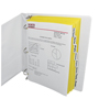 C-Line Products 8-Tab Paper Index Dividers, Clear Tabs CLI 05387BNDL18PK