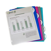 C-Line Products 5-Tab Poly Binder Index Dividers, Assorted CLI 05730BNDL12ST