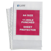 C-Line Products Standard Weight Polypropylene Sheet Protectors, A4 SIZE, 11 3/4 x 8 1/4 CLI08037BNDL2BX