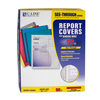 C-Line Products Vinyl Report Covers w/Binding Bars, Red, Matching Binding Bars, 11 x 8 1/2 CLI 32554