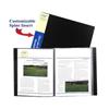 C-Line Products 24-Pocket Bound Sheet Protectors Presentation Book, Black CLI 33240BNDL4EA