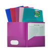 C-Line Products Biodegradable 2-Pocket Heavyweight Poly Portfolio CLI33800BNDL18EA