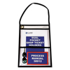 C-Line Products 2-Pocket Shop Ticket Holders w/Hanging Strap, Stitched, 9 x 12 CLI 38912