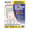 C-Line Products C-Line® Reusable Dry Erase Pockets CLI 40630