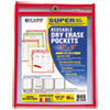 C-Line Products C-Line® Reusable Dry Erase Pockets CLI 41810