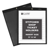 C-Line Products Shop Ticket Holders, Stitched, One Side Clear, 11 x 14 CLI 45114