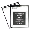 C-Line Products Shop Ticket Holders, Stitched, Both Sides Clear, 12 x 15 CLI 46125