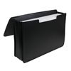 C-Line Products Poly Expanding Document Case, Legal Size, Black CLI48011BNDL2EA