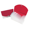 C-Line Products Expanding File w/Designer V-Cut, Pink CLI 48204BNDL3EA