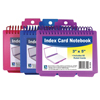 C-Line Products Spiral Bound Index Card Notebook w/Tabs CLI 48750BNDL8EA