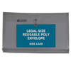 C-Line Products Reusable Poly Envelope w/String Closure, Side Load, Legal Size CLI58041BNDL3PK