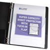C-Line Products Super Capacity Sheet Protectors w/Tuck-In Flap, 11 x 8 1/2 CLI61027BNDL2PK