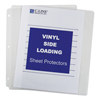 C-Line Products Side Loading Vinyl Sheet Protectors, Clear, 11 x 8 1/2 CLI61313