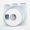 C-Line Products Individual CD/DVD Holders w/Index Tabs, Clear CLI 61908BNDL4PK