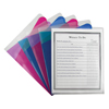C-Line Products Multi-Section Project Folders, Clear Folders w/Colored Dividers CLI 62110BNDL6PK