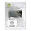 C-Line Products Multi-Section Project Folders, Clear Folders w/Clear Dividers CLI 62117