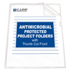 C-Line Products Project Folder w/Antimicrobial Protection, Reduced Glare CLI 62137BNDL2BX
