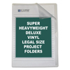 C-Line Products Deluxe Non-Glare Vinyl Project Folders, Legal Size CLI 62139