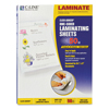 C-Line Products Heavyweight Cleer Adheer Laminating Sheets, Non-glare, 9 x 12 CLI 65004