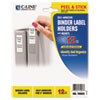 C-Line Products C-Line® Self-Adhesive Ring Binder Label Holders CLI 70023