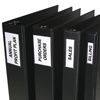 C-Line Products Self-Adhesive Binder Labels, 2-3 Binders, 1 3/4 x 3 1/4 CLI 70025BNDL5PK