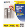 C-Line Products C-Line® Self-Adhesive Ring Binder Label Holders CLI 70035