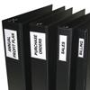 C-Line Products Self-Adhesive Binder Labels, 4-5 Binders, 2 1/4 x 3 CLI 70035BNDL5PK