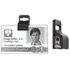 C-Line Products No-Punch Badge Attachment Clip CLI 88811BNDL2PK