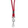 C-Line Products Standard Lanyard, Swivel Hook, Red CLI 89314BNDL48EA