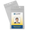 C-Line Products Zippered Badge Holders, Vertical CLI 89823
