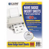 C-Line Products C-Line® Additional Laser/Inkjet Badge Inserts CLI 92443