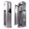 hand sanitizers: Clean Holdings - The Cleaning Station - Stunning Silver
