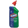 cleaning chemicals, brushes, hand wipers, sponges, squeegees: Clorox® Toilet Bowl Cleaner with Bleach