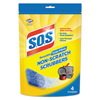 Sponges and Scrubs: S.O.S® Non-Scratch Soap Scrubbers