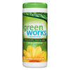cleaning chemicals, brushes, hand wipers, sponges, squeegees: Green Works® Compostable Cleaning Wipes