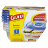 plastic containers: Glad® Food Storage Containers with Lids