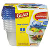 Clorox Professional Clorox Professional Glad® GladWare® Plastic Containers with Lids CLO 60796PK