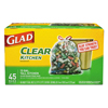 Clorox Professional Glad® Clear Recycling Tall Kitchen Trash Bags CLO78543