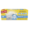 Waste Can Liners: Glad® OdorShield® Medium Quick-Tie® Trash Bags