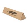 Henkel Triangular Mailing Tube, 18l x 4w x 4h, Brown, 12/Pack CML 1407104